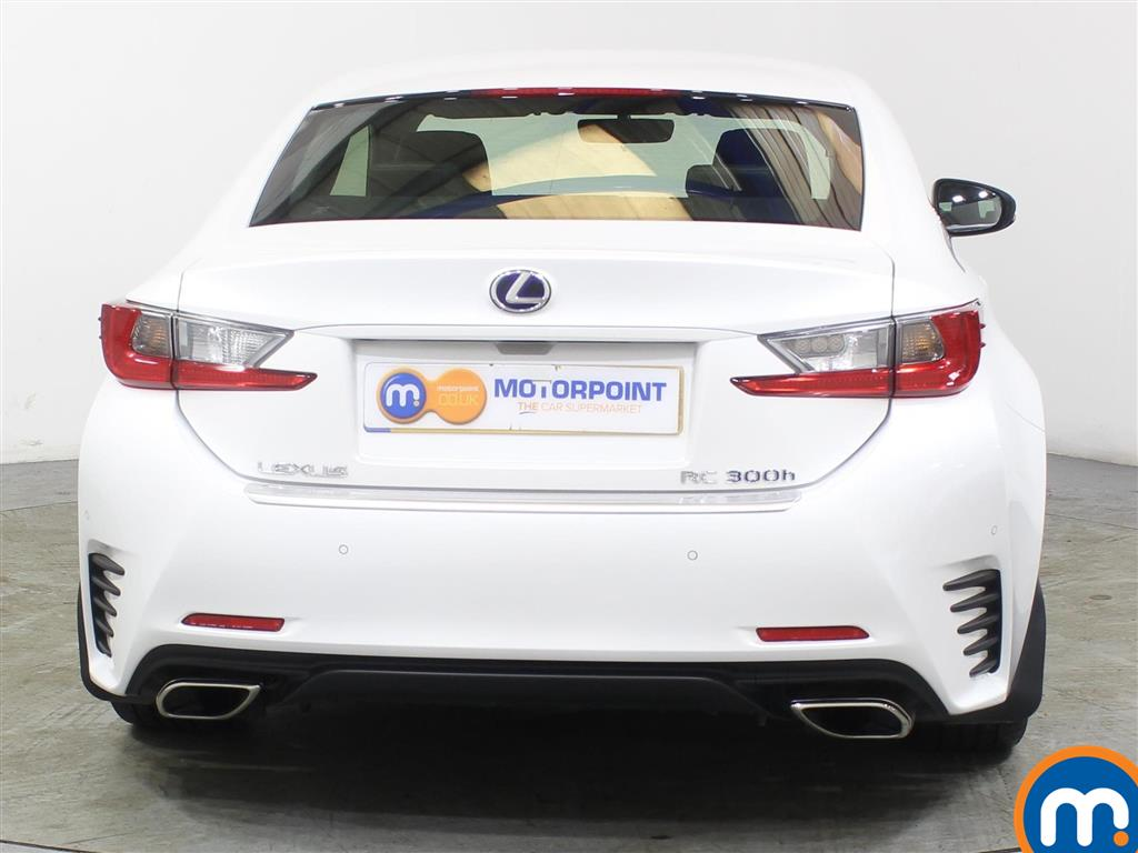 Lexus RC Luxury Automatic Petrol-Electric Hybrid Coupe - Stock Number (988794) - Rear bumper