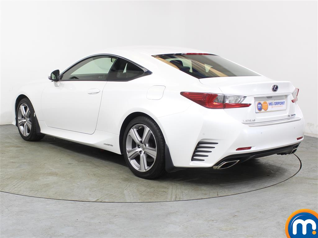 Lexus RC Luxury Automatic Petrol-Electric Hybrid Coupe - Stock Number (988794) - Passenger side rear corner