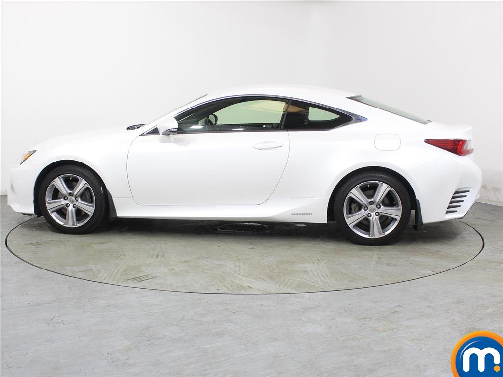 Lexus RC Luxury Automatic Petrol-Electric Hybrid Coupe - Stock Number (988794) - Passenger side