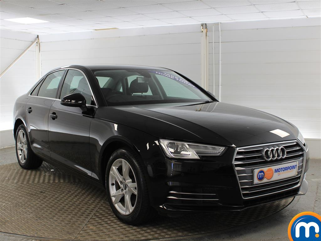 Audi A4 Sport Manual Petrol Saloon - Stock Number (987577) - Drivers side front corner