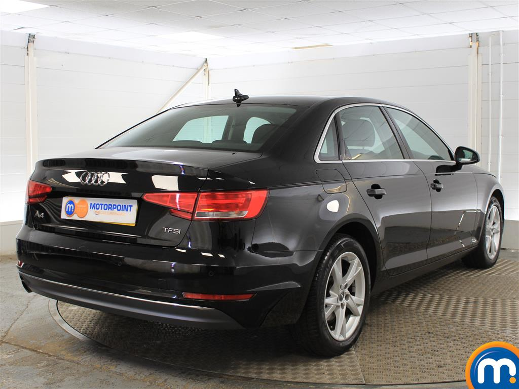 Audi A4 Sport Manual Petrol Saloon - Stock Number (987577) - Drivers side rear corner