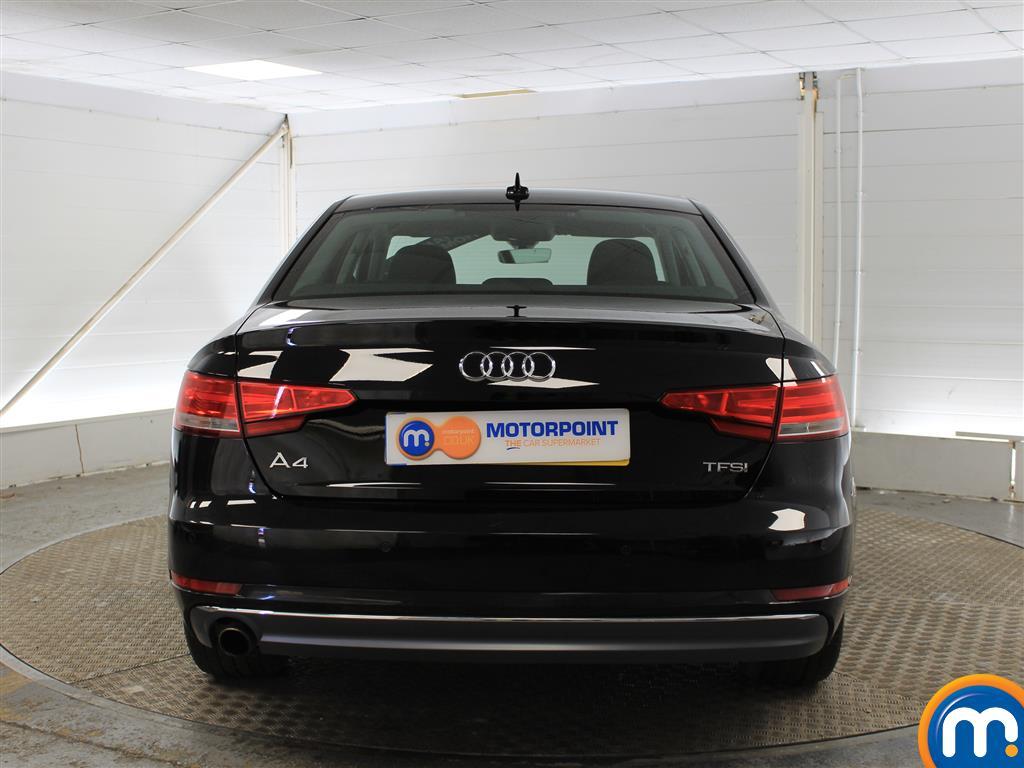 Audi A4 Sport Manual Petrol Saloon - Stock Number (987577) - Rear bumper