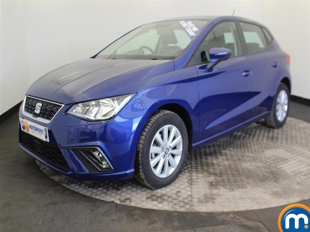 Seat Ibiza SE Manual Petrol Hatchback - Stock Number (986618) - Passenger side front corner