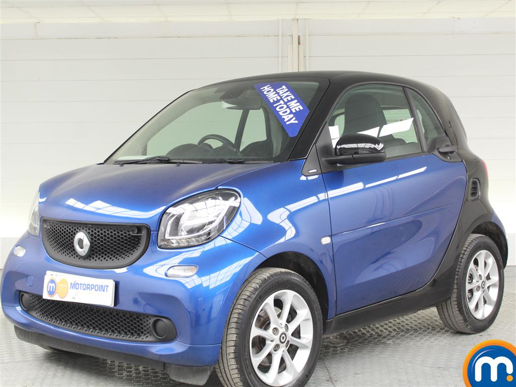 Smart Fortwo Coupe Passion - Stock Number (988187) - Passenger side front corner