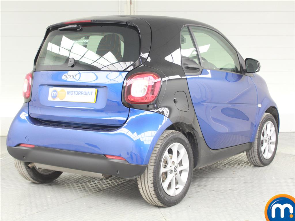 Smart Fortwo Coupe Passion Manual Petrol Hatchback - Stock Number (988187) - Drivers side rear corner