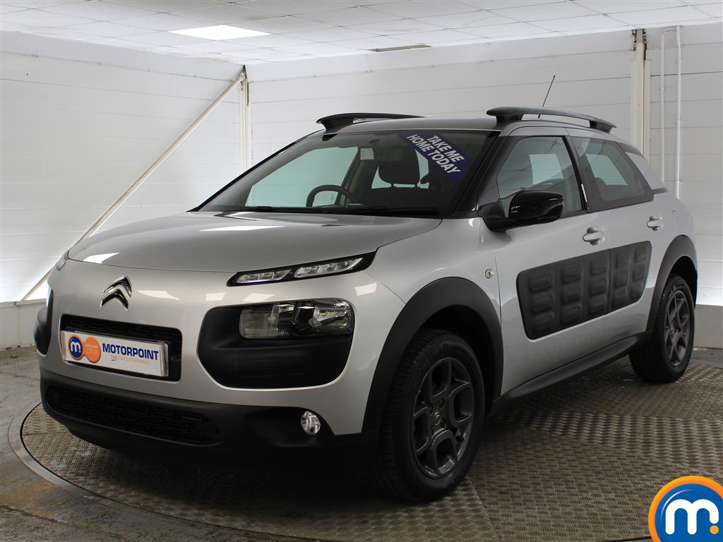Citroen C4 Cactus Feel Manual Petrol Hatchback - Stock Number (989952) - Passenger side front corner