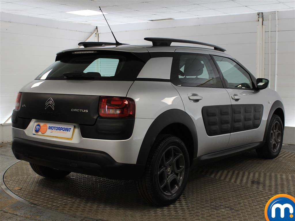 Citroen C4 Cactus Feel Manual Petrol Hatchback - Stock Number (989952) - Drivers side rear corner