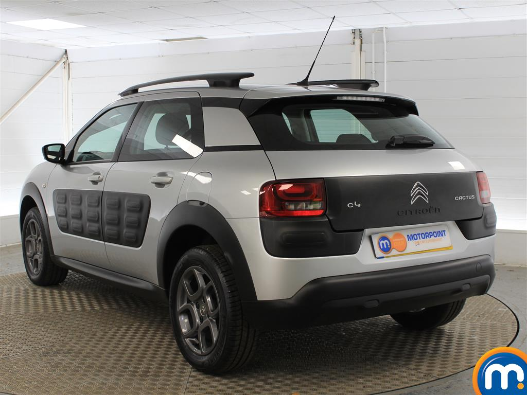 Citroen C4 Cactus Feel Manual Petrol Hatchback - Stock Number (989952) - Passenger side rear corner