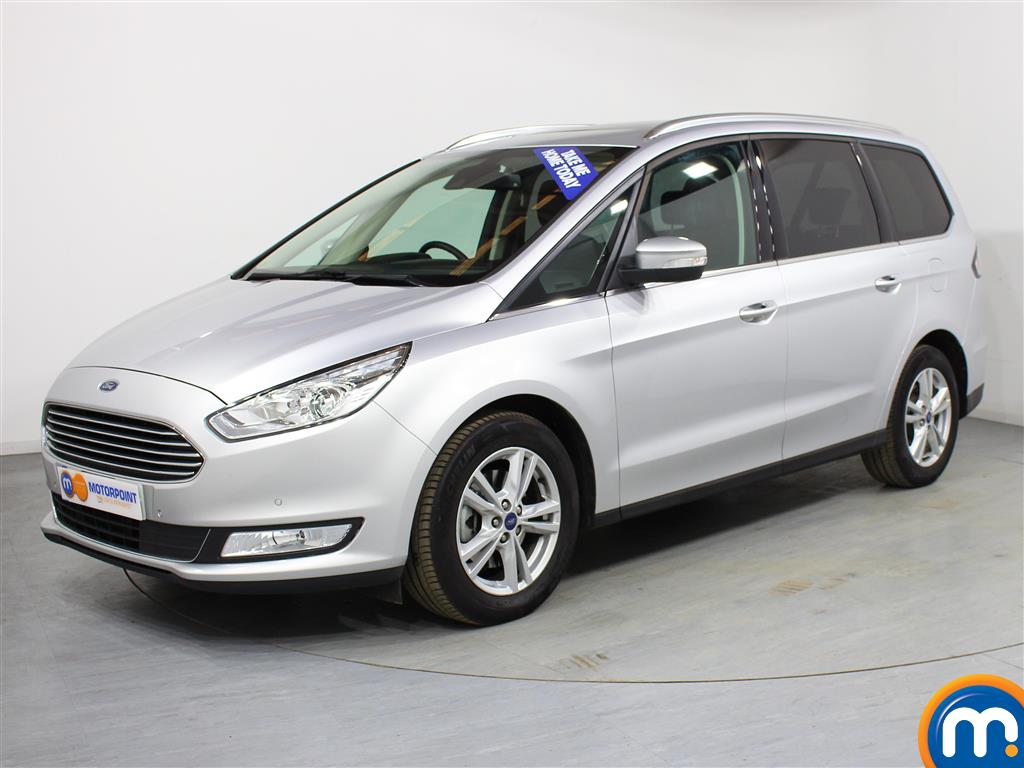 Ford Galaxy Titanium - Stock Number (984513) - Passenger side front corner