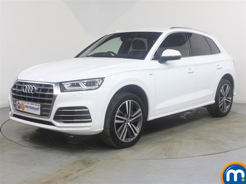 Audi Q5 S Line Automatic Diesel 4X4 - Stock Number (989308) - Passenger side front corner