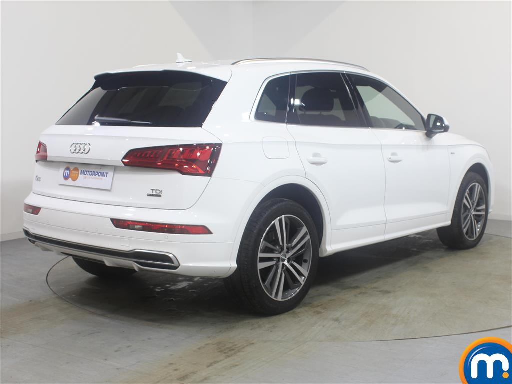 Audi Q5 S Line Automatic Diesel 4X4 - Stock Number (989308) - Drivers side rear corner