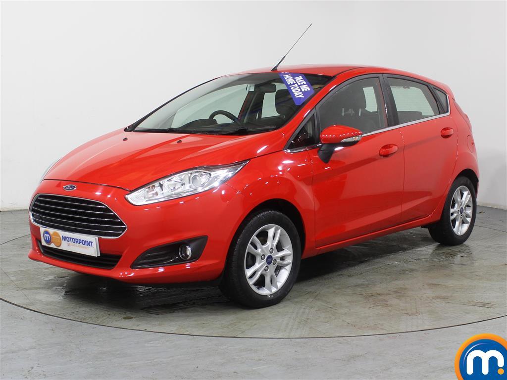Ford Fiesta Zetec - Stock Number (983001) - Passenger side front corner