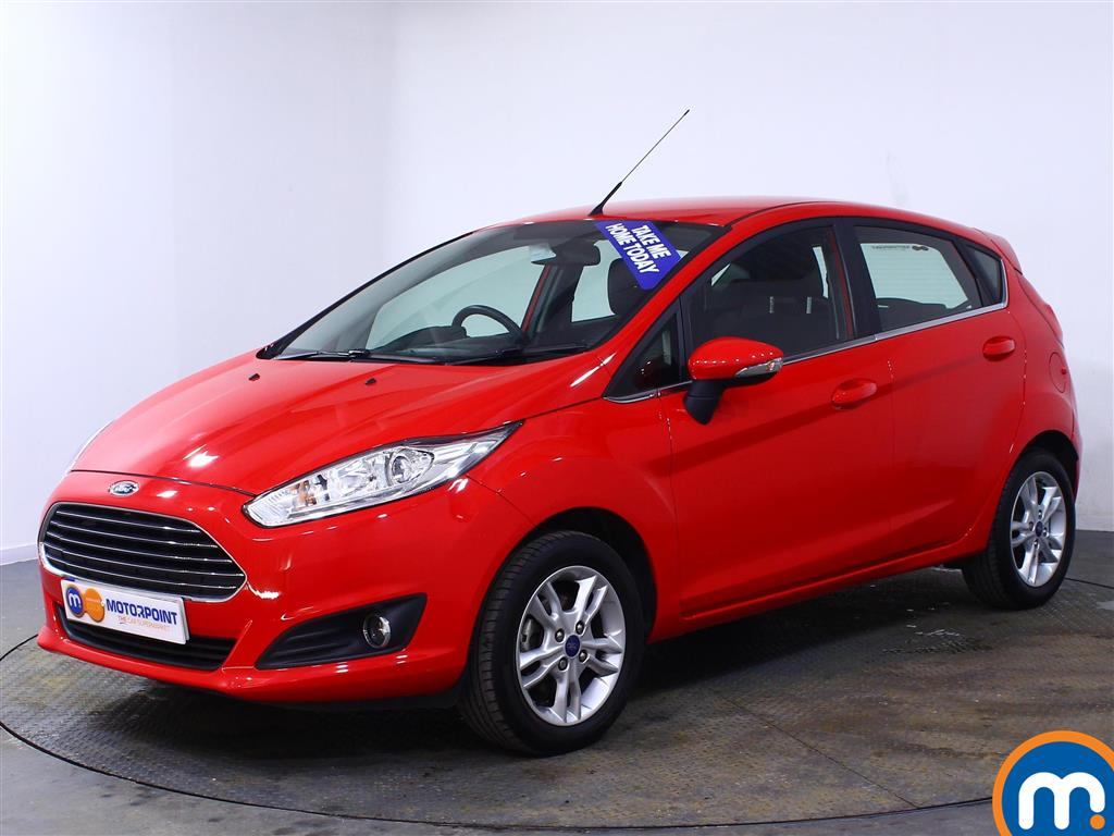 Ford Fiesta Zetec - Stock Number (989335) - Passenger side front corner