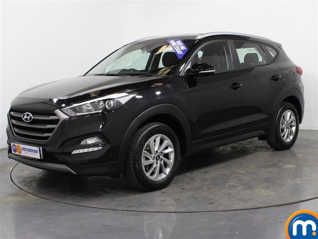 Hyundai Tucson SE - Stock Number (984645) - Passenger side front corner