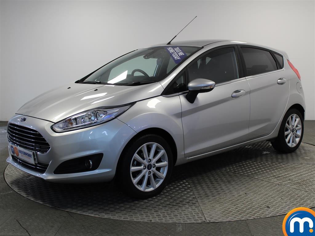 Ford Fiesta Titanium - Stock Number (986254) - Passenger side front corner