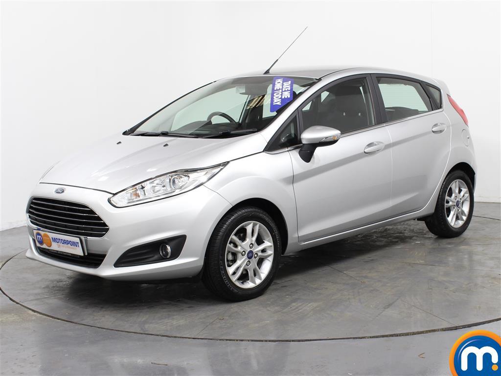 Ford Fiesta Zetec - Stock Number (988700) - Passenger side front corner