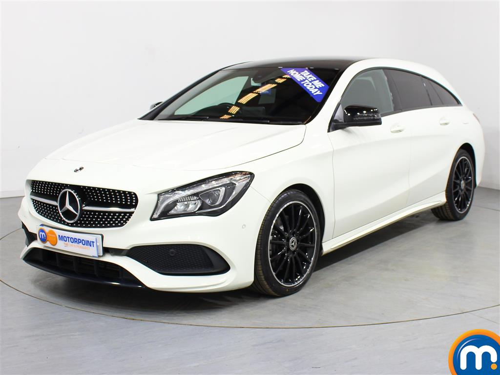 Mercedes-Benz Cla Class AMG Line - Stock Number (982041) - Passenger side front corner