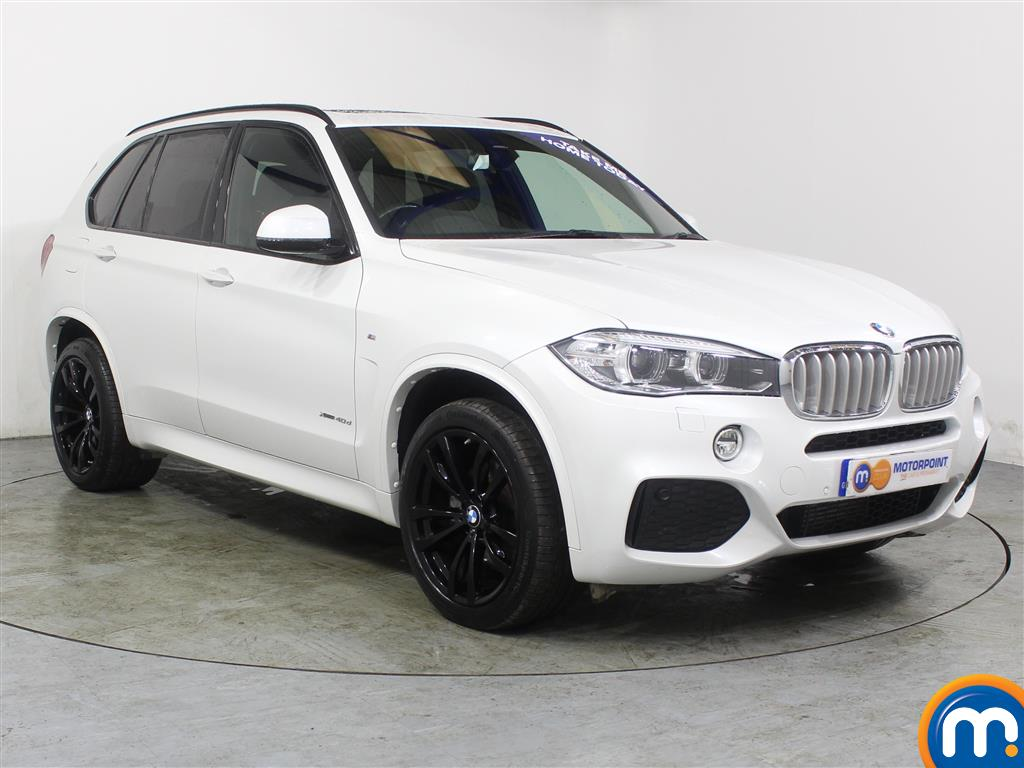 BMW X5 M Sport Automatic Diesel 4X4 - Stock Number (979179) - Drivers side front corner