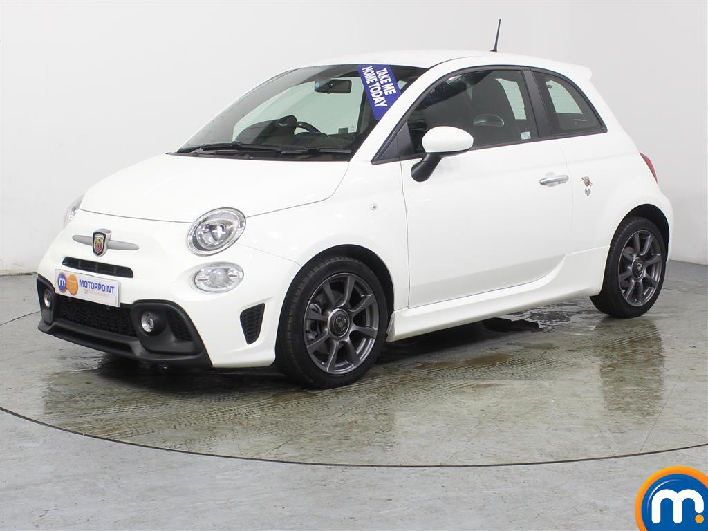 Abarth 595 1.4 T-Jet 145 3dr - Stock Number (990509) - Passenger side front corner