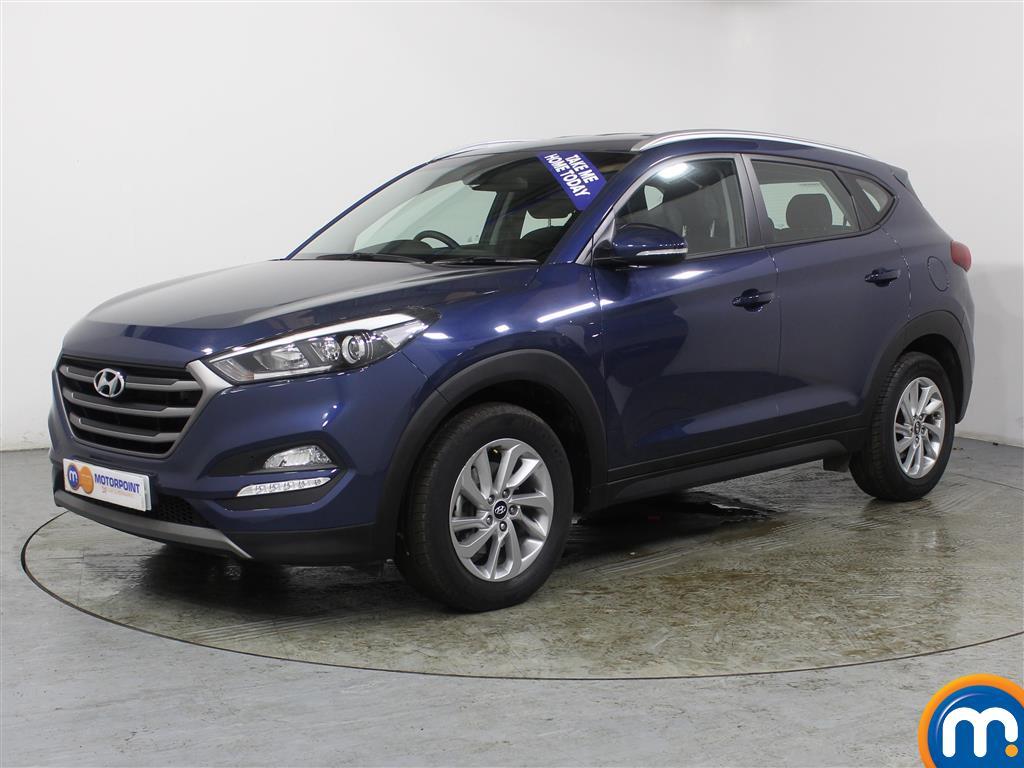 Hyundai Tucson SE Nav - Stock Number (983110) - Passenger side front corner