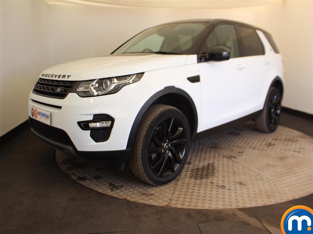 Land Rover Discovery Sport HSE Black - Stock Number (984989) - Passenger side front corner