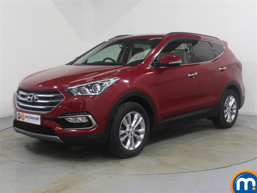 Hyundai Santa Fe Premium - Stock Number (983099) - Passenger side front corner