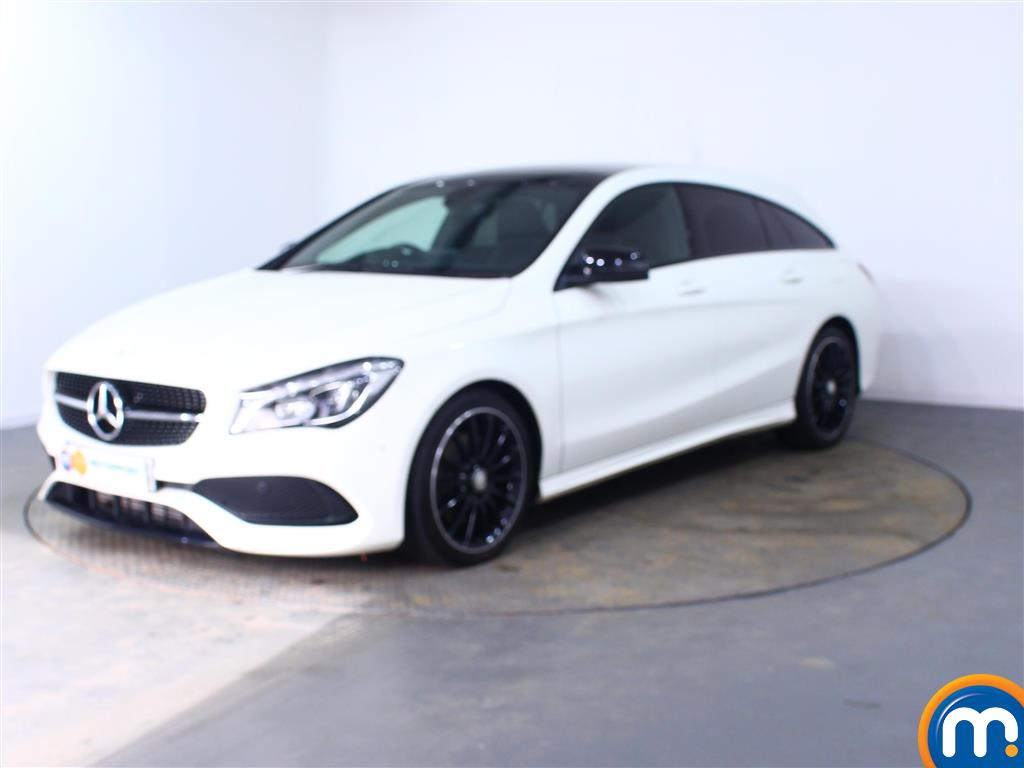Mercedes-Benz Cla Class AMG Line - Stock Number (983484) - Passenger side front corner