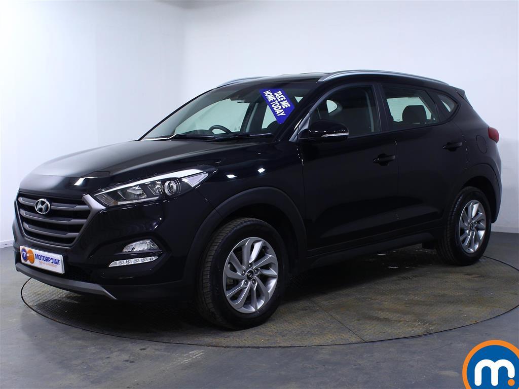Hyundai Tucson SE - Stock Number (984625) - Passenger side front corner