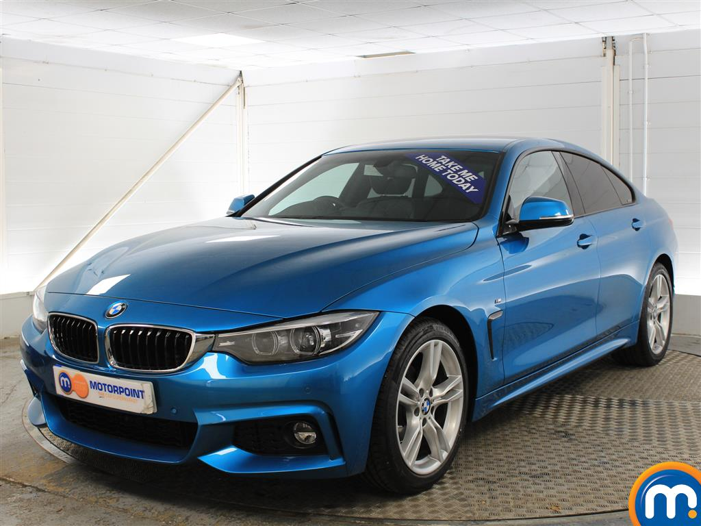 BMW 4 Series M Sport - Stock Number (987393) - Passenger side front corner
