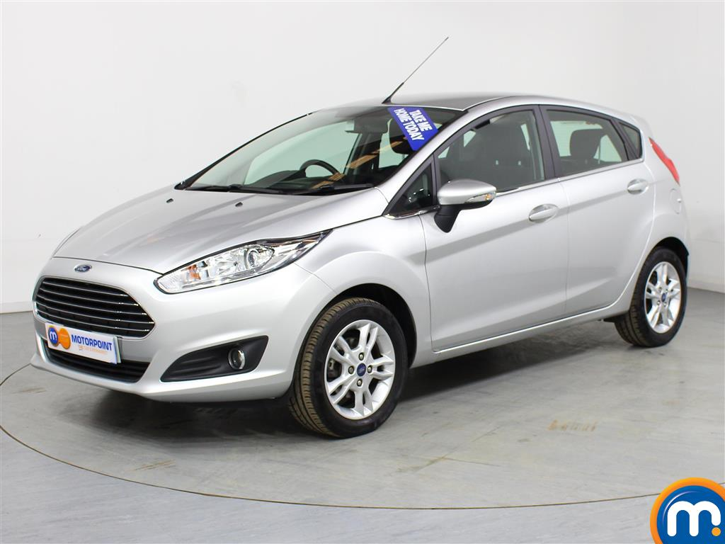 Ford Fiesta Zetec - Stock Number (990132) - Passenger side front corner