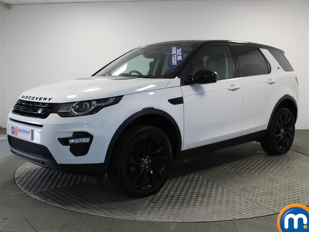 Land Rover Discovery Sport HSE Black - Stock Number (984987) - Passenger side front corner