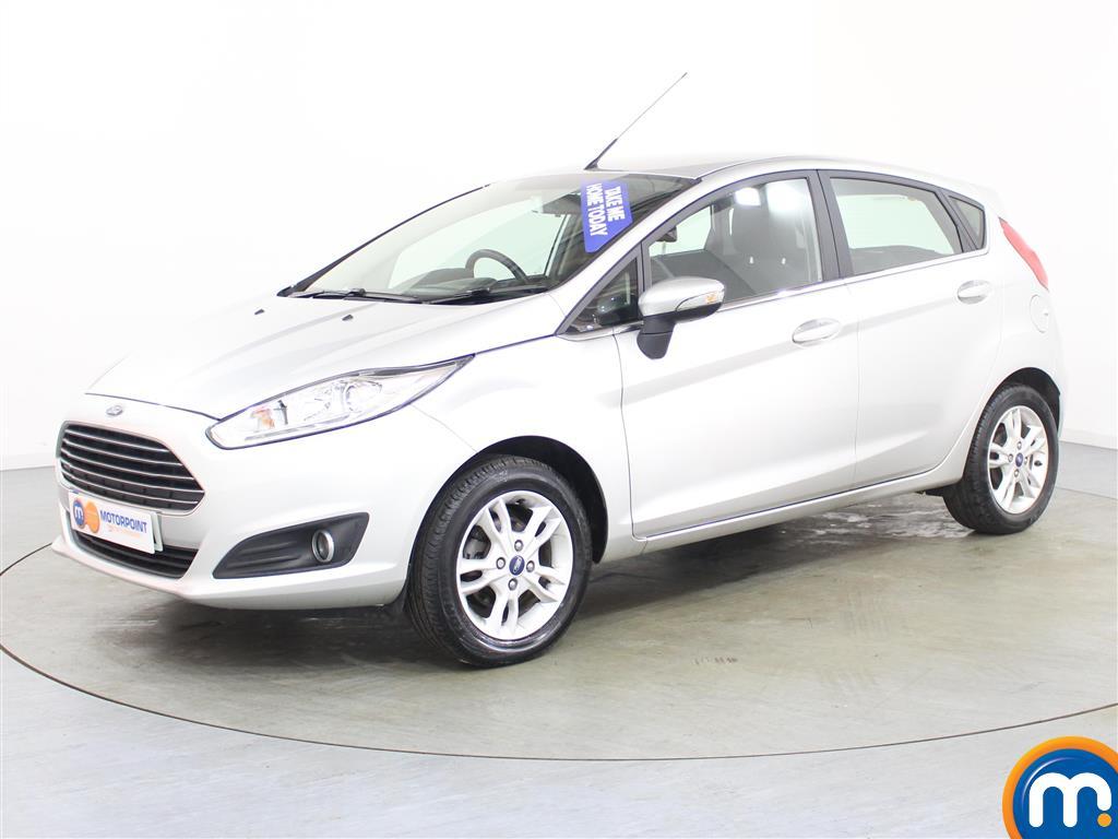 Ford Fiesta Zetec Manual Petrol Hatchback - Stock Number (986224) - Passenger side front corner
