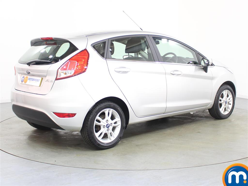 Ford Fiesta Zetec Manual Petrol Hatchback - Stock Number (986224) - Drivers side rear corner
