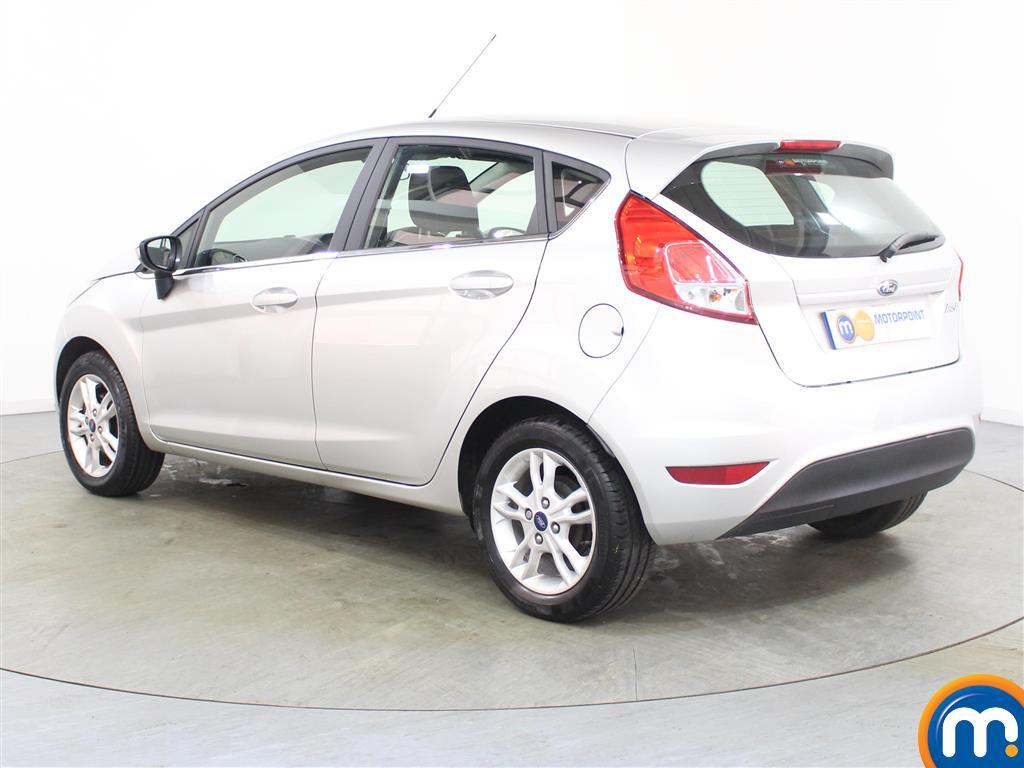 Ford Fiesta Zetec Manual Petrol Hatchback - Stock Number (986224) - Passenger side rear corner