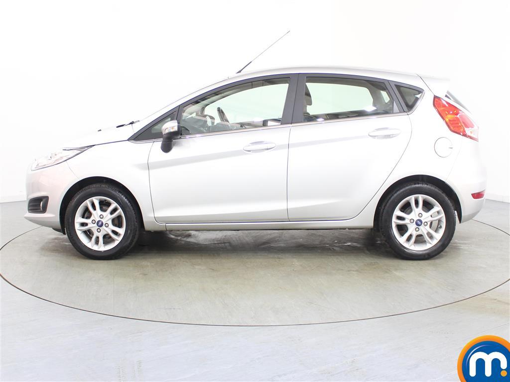 Ford Fiesta Zetec Manual Petrol Hatchback - Stock Number (986224) - Passenger side