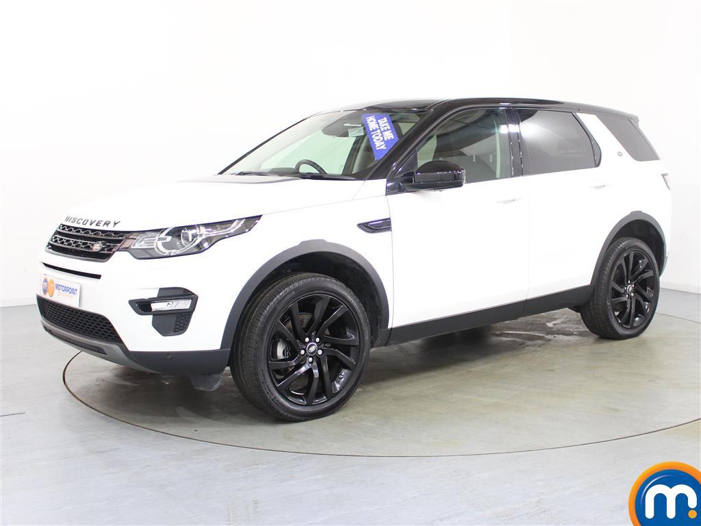 Land Rover Discovery Sport HSE Black - Stock Number (980239) - Passenger side front corner