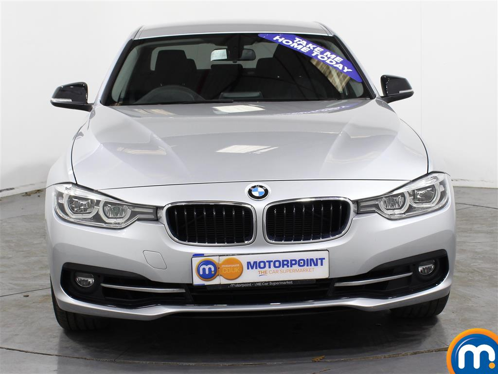 BMW 3 Series Sport Automatic Petrol Saloon - Stock Number (987544) - Front bumper