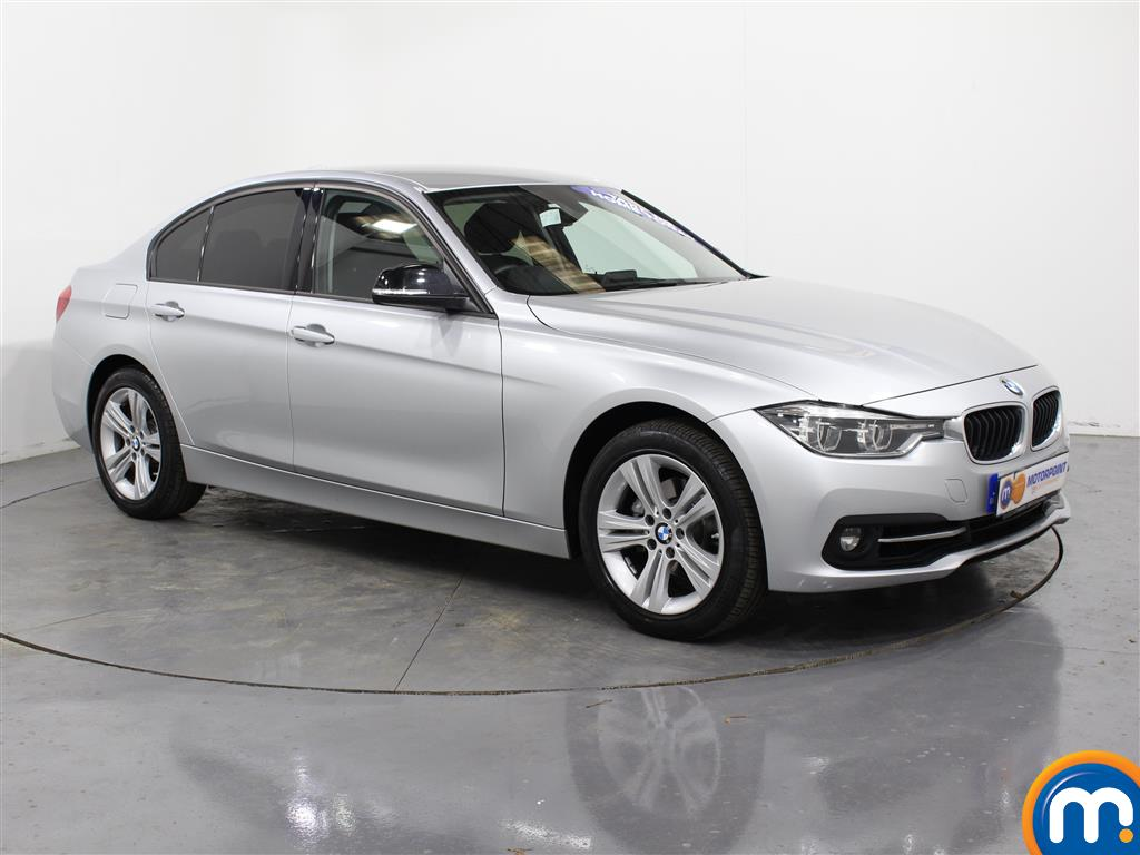 BMW 3 Series Sport Automatic Petrol Saloon - Stock Number (987544) - Drivers side front corner
