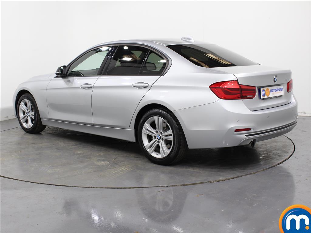 BMW 3 Series Sport Automatic Petrol Saloon - Stock Number (987544) - Passenger side rear corner