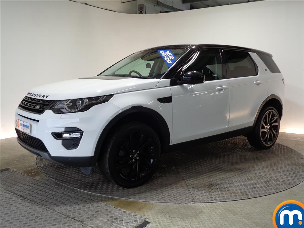Land Rover Discovery Sport HSE Black - Stock Number (984747) - Passenger side front corner