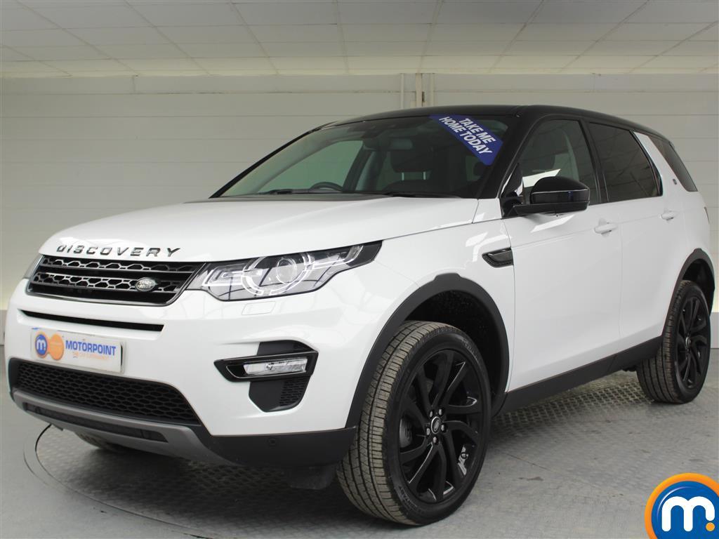 Land Rover Discovery Sport HSE Black - Stock Number (974015) - Passenger side front corner