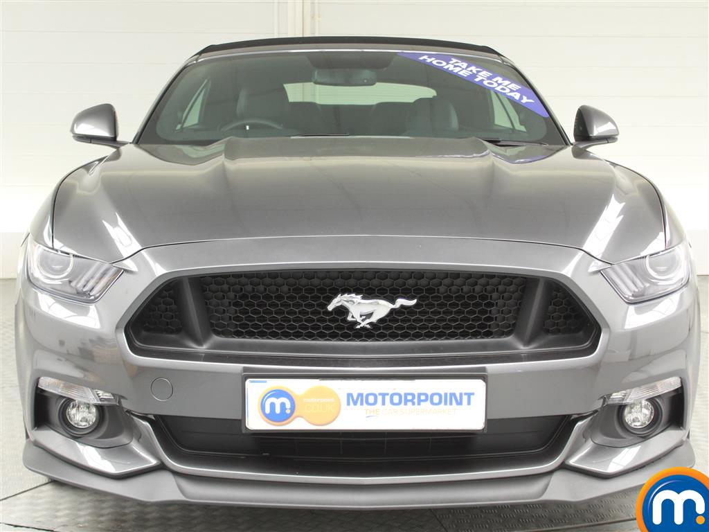 Ford Mustang GT Automatic Petrol Convertible - Stock Number (991954) - Front bumper