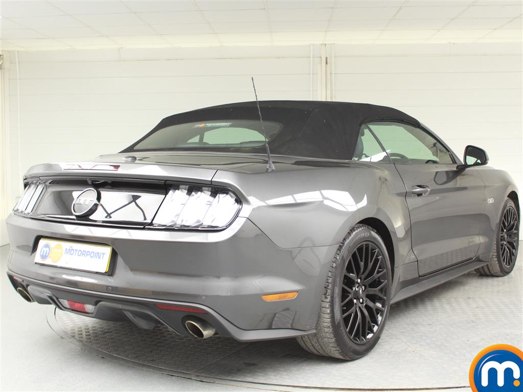 Ford Mustang GT Automatic Petrol Convertible - Stock Number (991954) - Drivers side rear corner