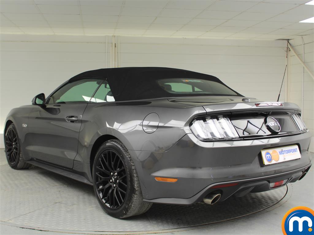 Ford Mustang GT Automatic Petrol Convertible - Stock Number (991954) - Passenger side rear corner