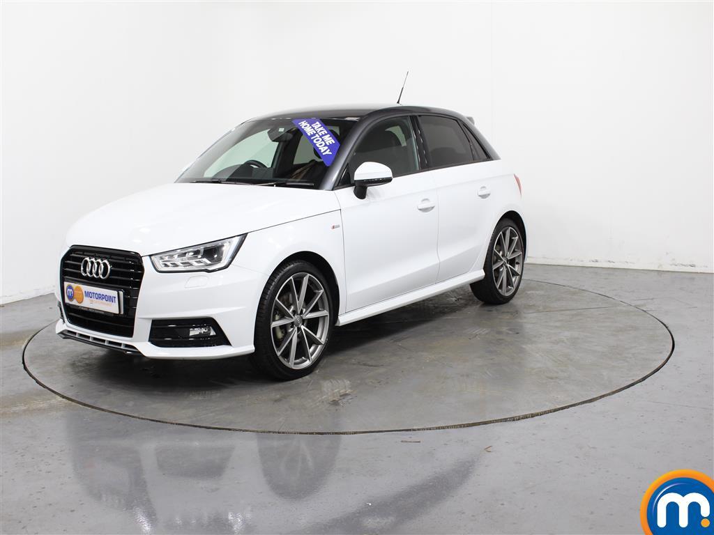 Audi A1 Black Edition Nav - Stock Number (988423) - Passenger side front corner