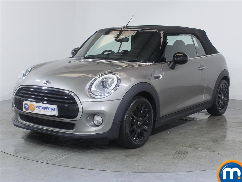 Mini Convertible Cooper - Stock Number (992167) - Passenger side front corner