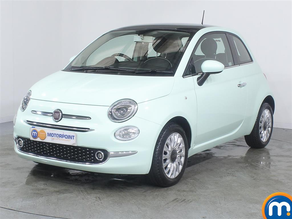 Fiat 500 Lounge - Stock Number (992442) - Passenger side front corner