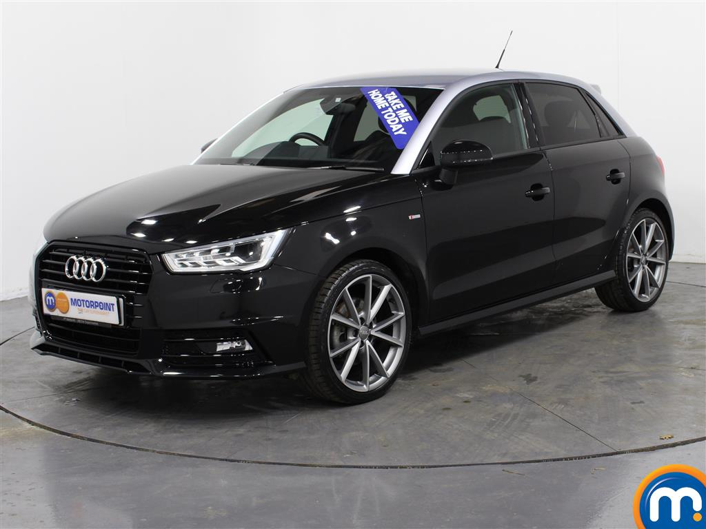 Audi A1 Black Edition Nav - Stock Number (988415) - Passenger side front corner