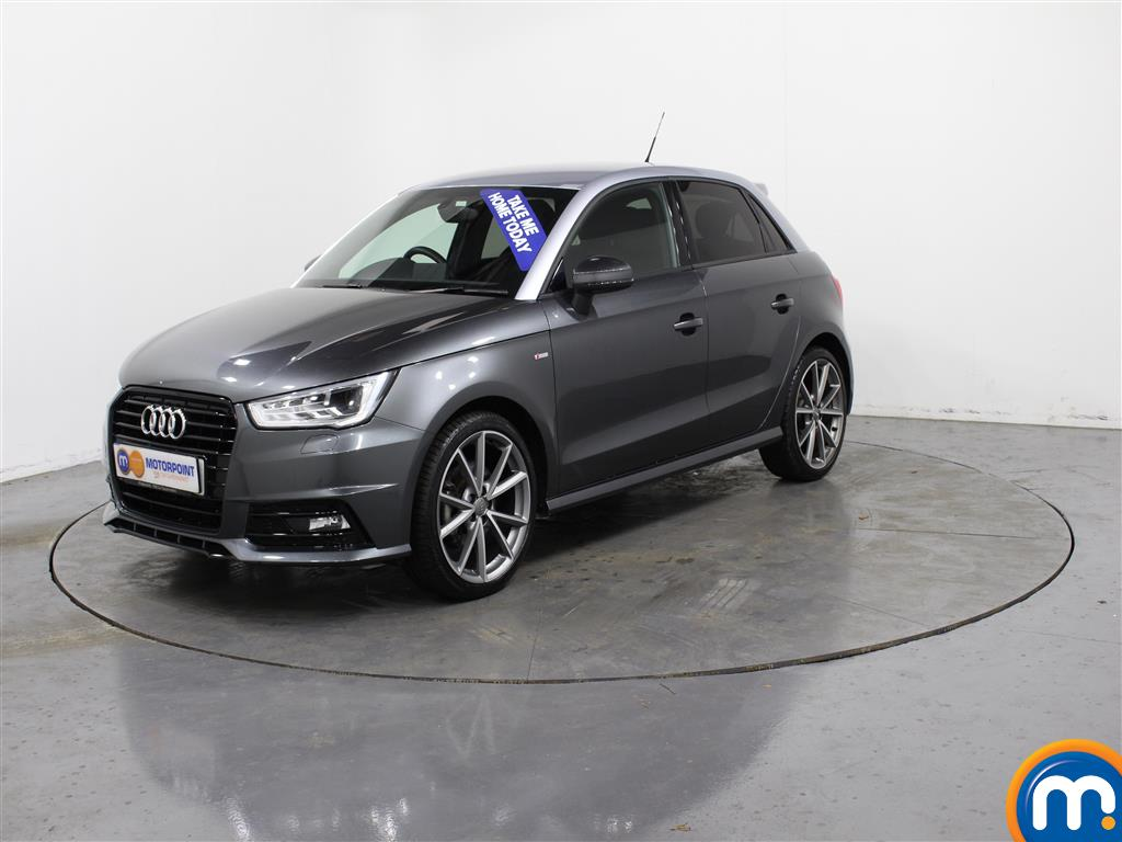 Audi A1 Black Edition Nav - Stock Number (988421) - Passenger side front corner