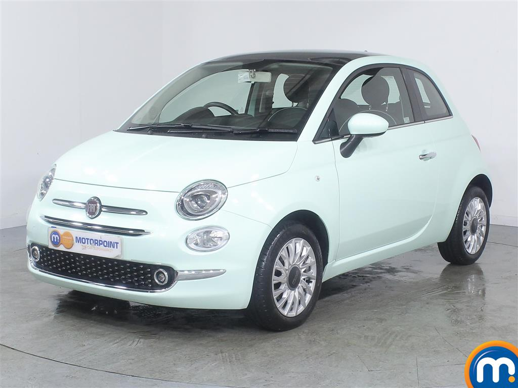 Fiat 500 Lounge - Stock Number (992444) - Passenger side front corner